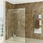 Wet room Shower Screen 8mm Easy Clean Glass Panel 2000mm / 200cm / 2m High