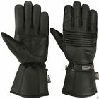 Thermal Motorbike Motorcycle Leather Gloves Waterproof Protection Winter Gloves