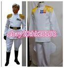 Imperial Master Admiral Cosplay Apparel White Uniform
