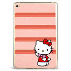 Cute Hello kitty Prints Soft Silicone Soft Case Cover For Samsung iPad A08D74