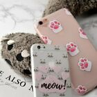 Ultra-thin Lovely Cute Cat's paw Cover Soft Case For Apple iPhone 6S 7 8 Plus