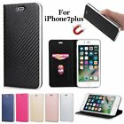Luxury Magnetic PU Leather ID Card Stand Cover Case For Apple iPhone 6S 7 8 Plus