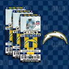 Los Angeles Chargers Football Ticket Style Sports Party Invitations $25.0 USD on eBay