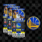 Golden State Warriors Basketball Ticket Style Sports Party Invites on eBay