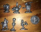 Monopoly game SpongeBob SquarePants. Replacement Pewter Tokens Only