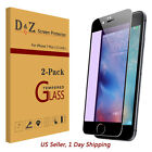 Full Coverage Premium 3D Tempered Glass Screen Protector Film for iPhone 7 Plus