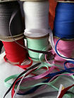 2M Cotton Bias Binding Tape Insertion Cord Flanged Rope Piping Sewing 10mm