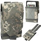Army Universal Camo Bag Belt Loop Hook Case Cover Pouch Holster For Apple, Acer