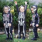 Cute Halloween Skull Printed Infant Kids Jumpsuits Clothes Cotton Outfit Sets
