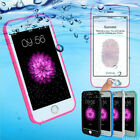 Waterproof Shockproof Hybrid Rubber TPU Phone Case Cover For iPhone 8 7 6 Plus 5