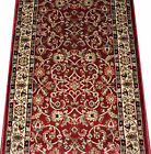 Dean Classic Keshan Claret Red Custom Length Carpet Rug Hall Stair Runner