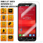Zenfone 5 9H Real Tempered Glass Film Cover Screen Protect For Asus 3 laser 5.5""