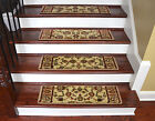 "Dean Premium Carpet Stair Treads - Elegant Keshan Antique 31"" W"