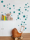 Various size Stars Wall Stickers Kid Decal Art Nursery Bedroom Vinyl Decoration
