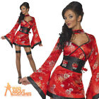 Vodka Geisha Girl Costume Sexy Ladies Fancy Dress Japanese Outfit UK 8 - 14