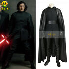 Kylo Ren Cosplay Costume Star Wars 8 COS Fancy Suit Halloween Costume for Adult $280.25 USD on eBay
