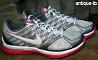 NIKE WOMEN'S ZOOM QUICK SISTER+ SZ 8 NEW SILVER WHITE PINK GREY 2010 RARE DS