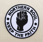 NORTHERN SOUL WIGAN CASINO STAX HEART OF SOUL  Iron On Sew On Embroidered Patch