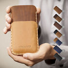 HTC Initialled Leather Situation Engraved Custom Cover-up Sleeve Accept Press card Keep