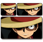 Anime One Piece Game Mouse Pad Profession PC Large Mats Muti size 055