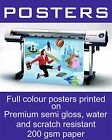 A2 Waterproof Outdoor Colour Poster Printing, Snapframe, A2