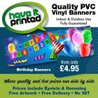 Birthday Banners Anniversaries Banners Celebration Banners Free Artwork & Post