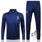 17/18 Navy blue Top Juventus Football training clothes Practice clothes