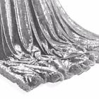 UAREHOME CRUSHED VELVET SOFT TOUCH LUXURY THROW SHERPA LINED