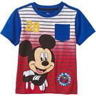 mickey mouse toddler boys red blue graphic