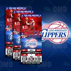Los Angeles Clippers Ticket Style Sports Party Invites on eBay