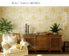 Pastoral Style Embossed Environmental Friendly Non-woven Bedroom  Wallpaper5.3㎡