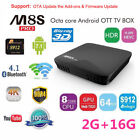 M8S PRO 7.1 DDR4 3G + 32G Smart Android TV BOX S912 HD Movies Quad Core 1080P