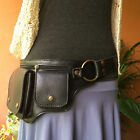Leather Hip - Waist Bag Festival Utility Belt Steampunk Fanny Pack - The HIPSTER