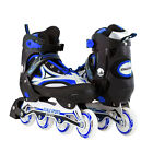 Adjustable Men Roller Blades Inline Skates Scale Sports Size 8-11