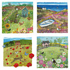 Birthday Card - Blank Inside - Country Lanes Collection - 4 Beautiful Designs