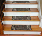 Dean Washable Non-Skid Carpet Stair Treads - Garden Path Brown