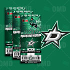 Dallas Stars Ticket Style Custom Sports Party Invitations $45.0 USD on eBay