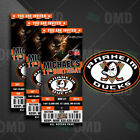 Anaheim Ducks Ticket Style Sports Party Invites $25.0 USD on eBay