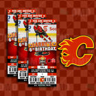 Calgary Flames Ticket Style Sports Party Invites $25.0 USD on eBay
