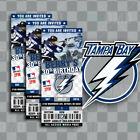 Tampa Bay Lightning Ticket Style Sports Party Invites $25.0 USD on eBay