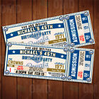 Classic Kansas City Royals Ticket Style Sports Party Invitations on Ebay