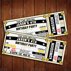 Classic Pittsburgh Pirates Ticket Style Sports Party Invitations on Ebay