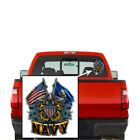 Us Navy United States Navy Double Flag Eagle Navy Shield Decal Sticker