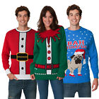 NEW Christmas Jumpers Mens Womens Ladies Xmas Novelty Vintage Unisex All Sizes
