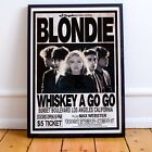 Blondie Early Concert Print or Poster Available Three Sizes NEW Exclusive