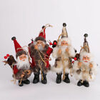 16-22cm Santa Claus Doll Toy Christmas Tree Ornaments Home Xmas New Year Gift