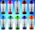 450ML Portable Electric Tornado Protein Shaker Blender Liquid Mixer Bottle Cup