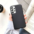 For Samsung Galaxy S8 S7 S9 J5 Slim Soft Matte Rubber Silicone Phone Case Cover
