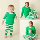Christmas Family Matching Kids Baby Mom Dad Pajamas PJs Set Xmas Gifts Sleepwear
