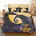 3D The Nightmare Before Christmas Jack Under the Moonlight Bedding Duvet Cover